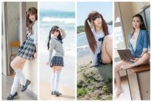 日本と海外の有名コスプレイヤーたちの新しいコンテンツを販売開始「学園天国2020シリーズ」 【アニメニュース】
