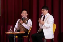 オール阪神『スカーレット』トークショーで「もういっぺん最後に出してほしいな」