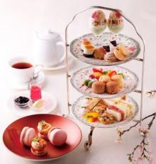 お花見や散策の途中に立ち寄りたい♩桜の季節にぴったりのアフタヌーンティーが京都ホテルオークラにお目見え♡