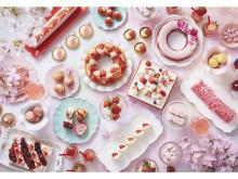 """苺チョコガナッシュで桜を描いてみよう!""""白いちご""""スイーツが楽しめるいちごブッフェ開催"""