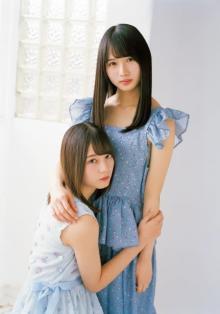 """日向坂46""""美少女姉妹""""小坂菜緒&上村ひなの、ハッピーオーラ全開で魅了"""