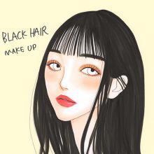 """茶髪から暗髪へ…今こそこだわりたい""""黒髪メイク""""は前髪の長さ・重さで決めてみて♡"""
