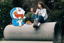 ドラえもん、誕生50周年でファッションページ初登場 泉里香と共演「心が踊りました♪」