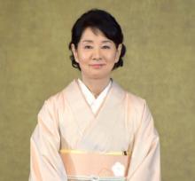 吉永小百合、五島列島の応援サポーター就任 名物・椿で染めた着物姿で登場