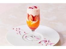 旬の国産フルーツ×甘酒のエスプーマ!春限定のフォトジェニックなパフェ