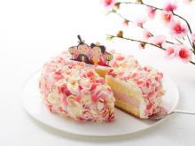 ケーキを囲んでお祝い!「モロゾフ」から華やかなひなまつりスイーツが登場