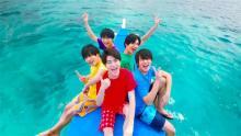 Hi☆Five、セブ島の大自然を満喫 至近距離でジンベイザメ遭遇に驚き