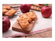 甘酸っぱくてサクサク!季節限定・紅玉りんごの「焼きたてフィナンシェ」