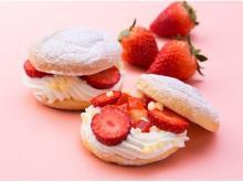 苺×ふわふわのブッセ×チーズクリームが絶品!「Fuwa-Trois」の春限定商品