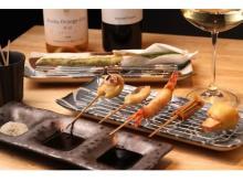 プロの味を自宅で堪能!赤坂の創作串揚げ店が「出張シェフサービス」を開始