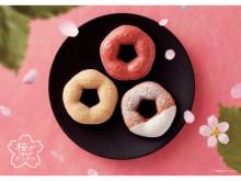 ミスドより春の新作「桜が咲くドドーナツシリーズ」が期間限定で登場!