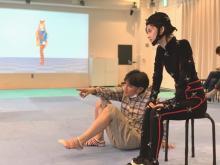 加藤小夏、人生初のモーションキャプチャーに挑戦「私の分身を見ているような不思議な感覚に」