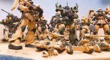 ランバ・ラル隊の出撃シーンを妄想再現「MSに乗らないジオン兵の生き様をフィギュア化」