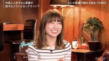"""桃""""恋リア""""外国人男性メンバーに大興奮「モデル級のイケメン」 フワちゃんと流ちょうな英語も披露"""