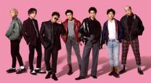 GENERATIONS、4・15バンドサウンド新曲「ヒラヒラ」 男らしさ際立つMV公開