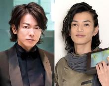 佐藤健&渡邊圭祐、仮面ライダー2ショットに反響「度肝抜かれるくらいかっこいい」「我が電王」