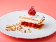 キュートな見た目とリッチな味でご褒美感たっぷり♡グランフロント大阪のカフェ「ビブバール」の春の苺デザート