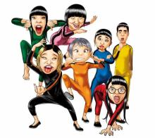 BiSH、『浦安鉄筋家族』ED曲書き下ろし 浜岡賢次氏描き下ろしイラストも公開