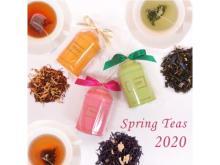 """「紅茶専門店プリミアス」に""""春のフレーバーティー2020""""が新登場!"""