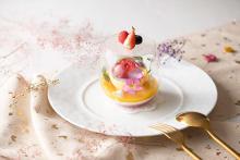 お花いっぱいのデザートにキュン。「アニヴェルセルカフェ みなとみらい横浜」で春のフェアがはじまりました♡