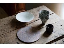 陶芸家・二階堂明弘氏の1年半ぶり作陶展がイデーショップ六本木店で開催