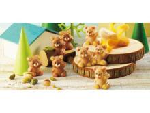 クマの形がキュート!大人気の「プチベアショコラ」がロイズ通信販売に登場