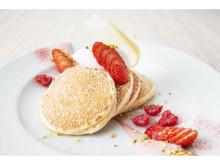 期間限定販売!「サラベス」に春の訪れを感じるスペシャルパンケーキが登場