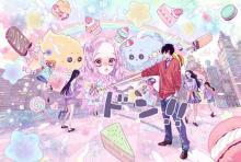 『ONE PIECE』ルフィが少女漫画化でビッグ・マム壁ドン ゲーム動画内で恋愛物語が展開