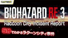 4月3日(金)発売のPS4®/Xbox One/Steam『バイオハザード RE:3』に備えて、ストーリーをおさらい出来る動画など本日公開! 【アニメニュース】