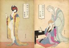 """白雪姫にアナ雪…美しすぎる""""浮世絵風アート""""にディズニーファンからも反響続々"""