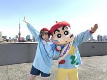 人気YouTuber・@小豆が『映画クレしん』とダンスコラボ