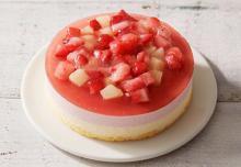 お花畑みたいな桃×苺のケーキが「ルタオ」に新登場♡ケーキ&お花を贈る「母の日ギフト」の受付もスタートしました♩
