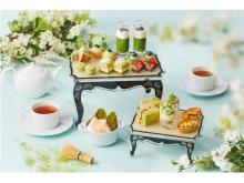 和スイーツ好き必見!5種の抹茶を使った贅沢アフタヌーンティー