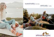 左右非対称なのがカワイイ♡リサイクル素材から生まれた「ソルメイトソックス」日本公式オンラインストアがOPEN