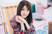 乃木坂46・松村沙友理、胸元チラリな春コーデ「ほのかな色気をプラス」