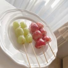 インスタで話題の「フルーツ飴」。まるで自分で作る宝石箱みたいで、おうちカフェで大人気なんです♡