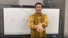 ピコ太郎、オンライン教室で手洗い動画『PPAP-2020-』レクチャー SKY-HIも朝の会ライブ登場へ