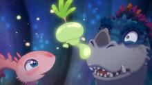 アニメ映画『さよなら、ティラノ』新規場面カット公開 心優しい恐竜描き声は三木眞一郎