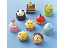 """""""こどもの日""""期間限定!動物の可愛いプチケーキを詰め込んだスイーツBOX"""