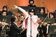Toshl、『題名のない音楽会』初出演 2週にわたってオーケストラバックに熱唱