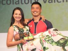 ラグビーの山田章仁選手の妻・山田ローラが第3子妊娠を報告「無事安定期」