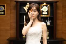 ドラマ『M』田中みな実のウエディングドレス姿を先行公開 第4話から放送は当面延期