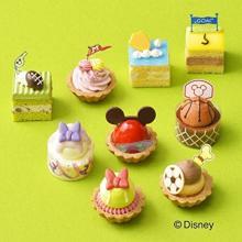 ディズニーの人気キャラが9種のスポーツにチャレンジ!コージーコーナーの新作プチケーキは元気になれちゃうデザイン♩