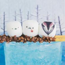 白い食べ物はぜ~んぶ雪の妖精シマエナガに♡おうちカフェメニューが激変する「たべられるアート」がかわいすぎる!