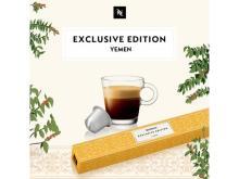 """NESPRESSO""から100%イエメン産アラビカ豆を使用した特別限定コーヒー発売"