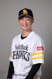 鷹・明石健志選手がパパに 第1子男児が誕生