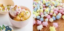 のっけるだけで映え度がアップ!こんぺいとうみたいな新潟の伝統菓子「浮き星」はおうちカフェにぴったり♩