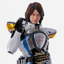 真骨彫『仮面ライダーイクサ』発売 音也の交換用頭部パーツも付属 武田航平完全協力で頭部をスキャン