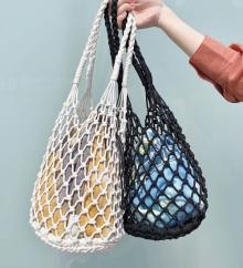 今季のバックは「編む」がポイント!Kastaneの編みバッグがトレンド満載の有能アイテムでした♡