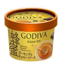 ゴディバの新作カップアイスがセブン限定で登場!国産はちみつ100%アイス×チョコの至福のマリアージュ♡